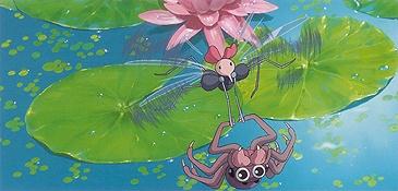 Galerie Monmon l'araignée d'eau