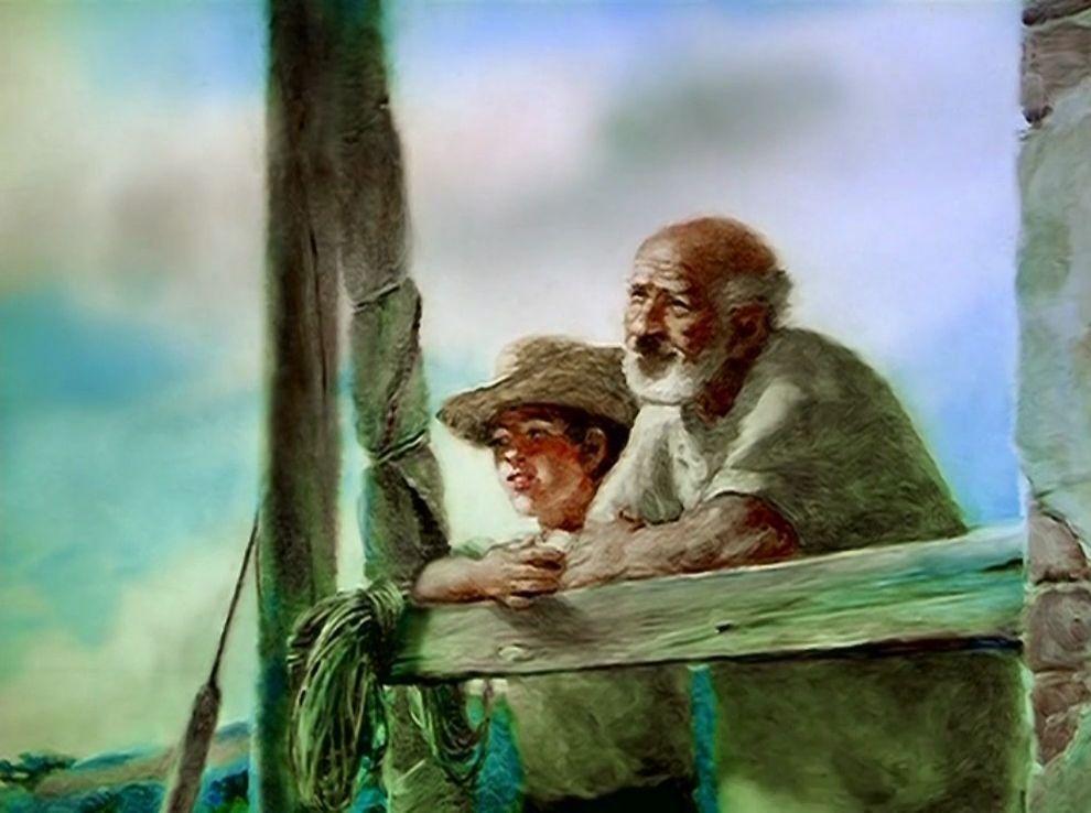 Galerie Le vieil homme et la mer 5