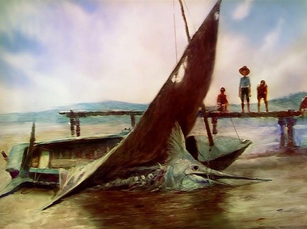 Galerie Le vieil homme et la mer 8