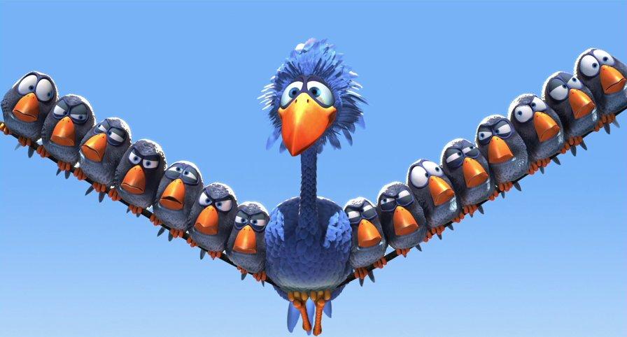 Galerie Drôles d'oiseaux